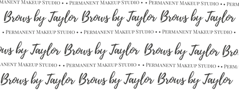 Brows by Taylor logo